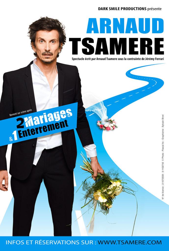 nouveau spectacle Arnaud Tsamere